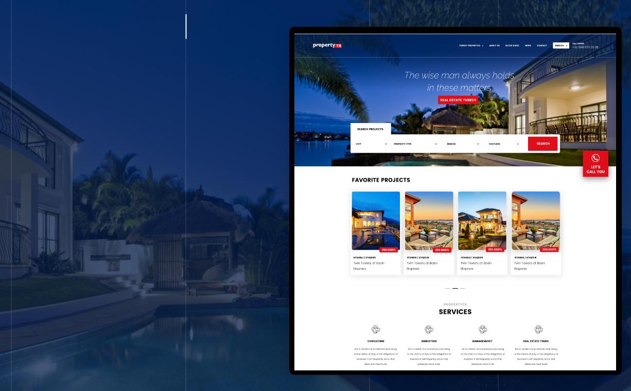 Propertytr Web Yazılım Tasarım