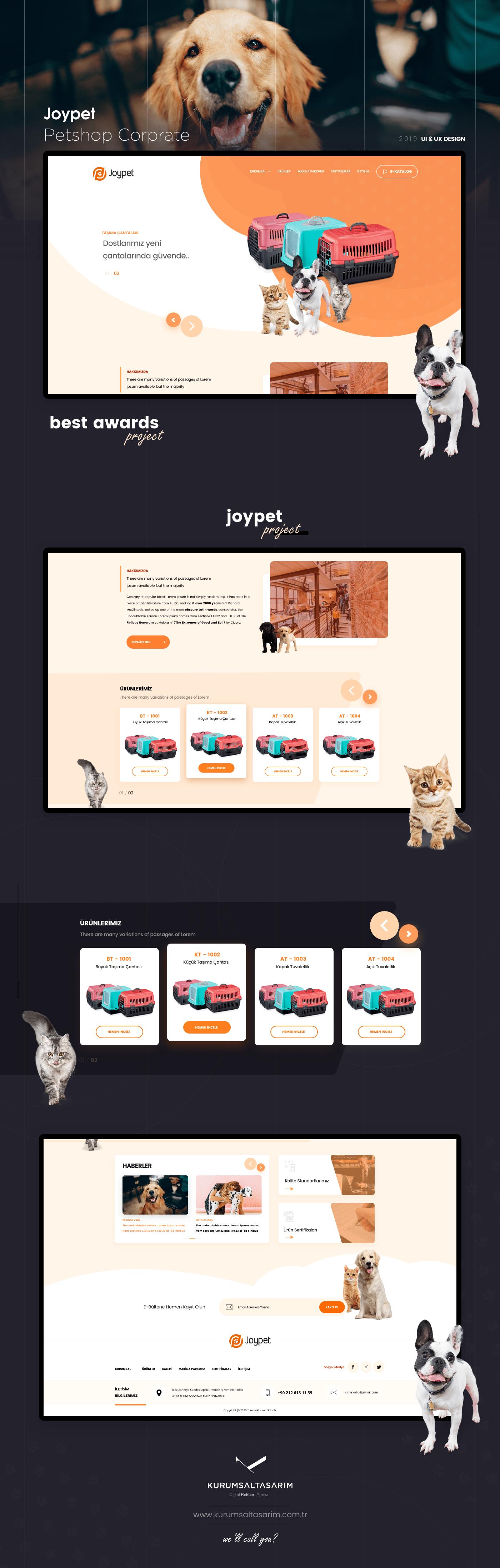Petshop Web Sitesi