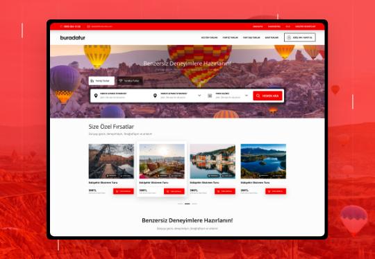 Buradatur Günlük Tur Scripti – CRM – Web Tasarım