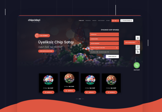 Epin, Chip, Zygna Web Tasarım