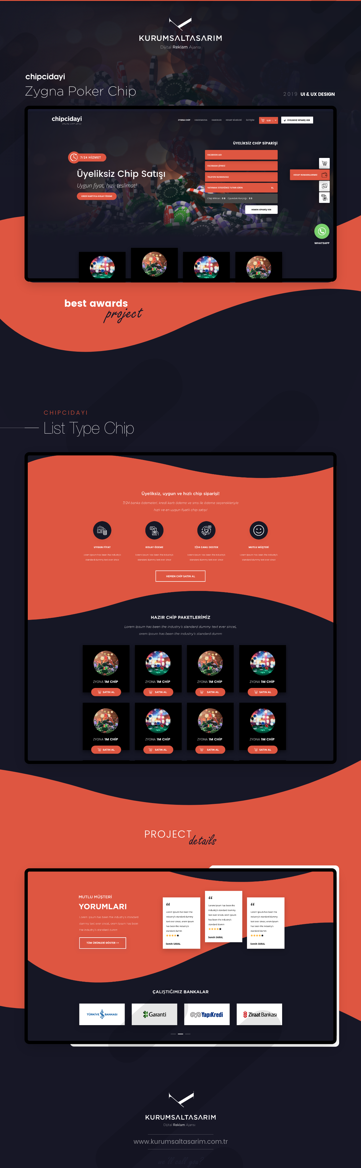 Zygna Chip Epin satış web sitesi tasarımı