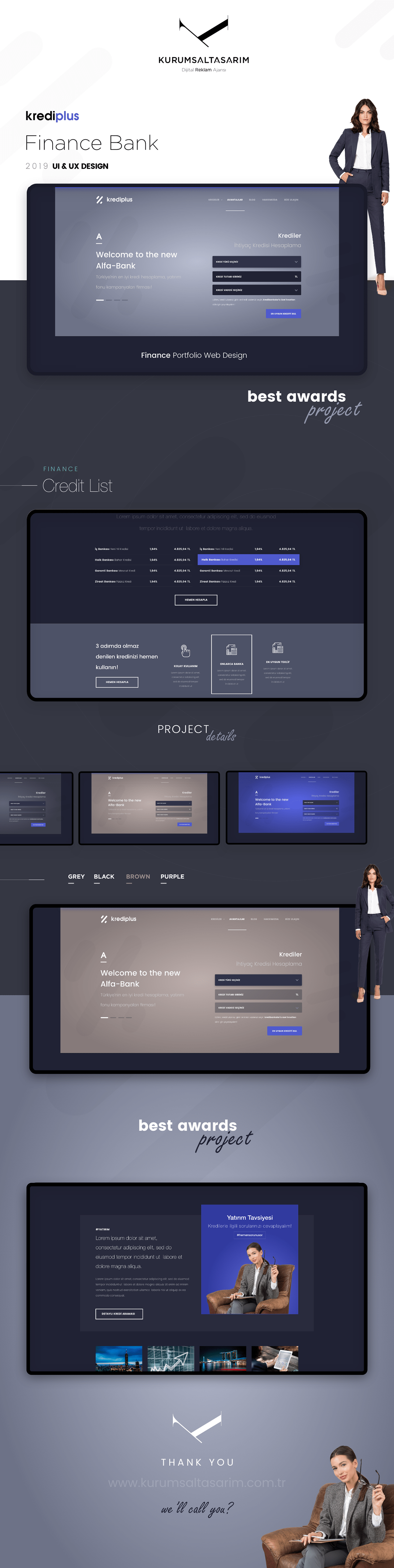Finans Kredi Banka Web tasarım yazilim
