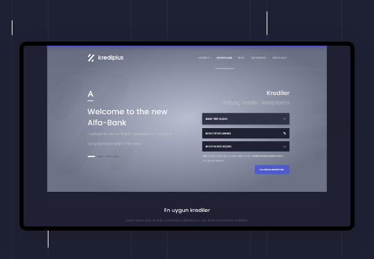 Finans & Banka Web Tasarım