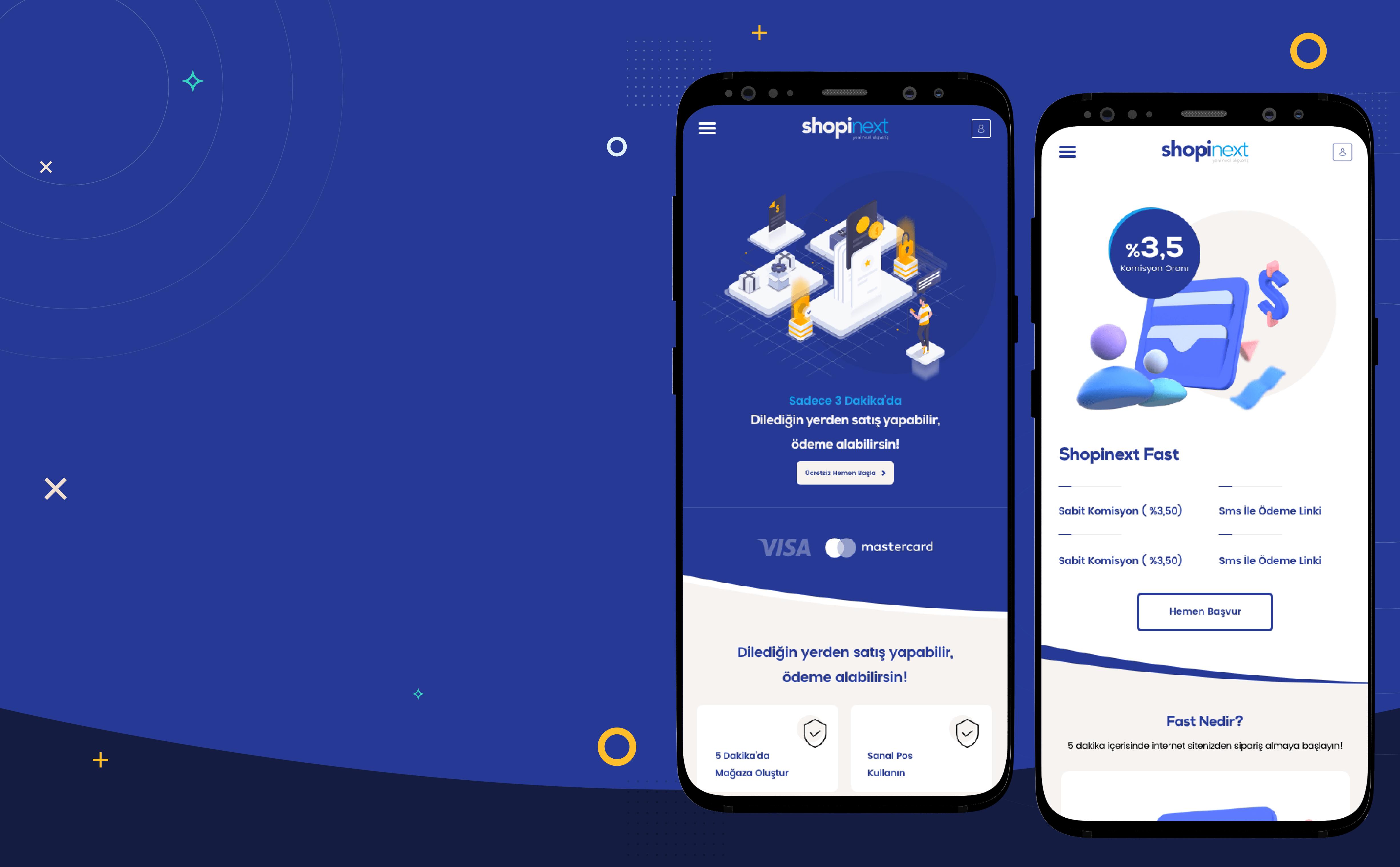 Shopinext Web Mobil Ui Ux Tasarım